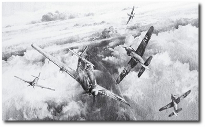 The Eagles Divide by Robert Taylor (P-51 Mustang)