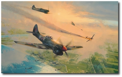 The Final Show by Robert Taylor (Hawker Tempest)