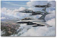 The Gascogne by Ronald Wong (Rafale, Mirage IV)