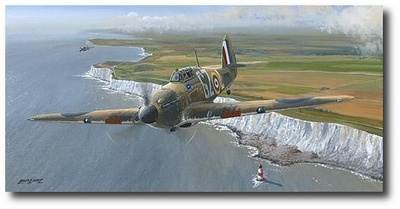 The Guardians by Philip West (Hawker Hurricane)