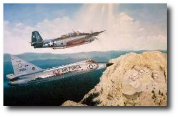 The Honor of Your Company by Joe Kline (TBM Avenger & F-102 Delta Dagger)