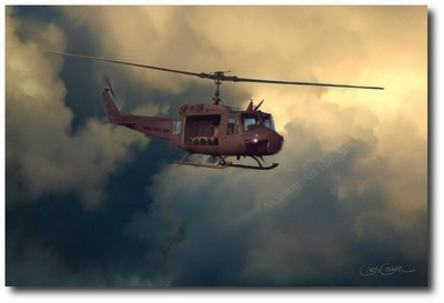 The Huey by Chris Cosner (UH-1 Huey)