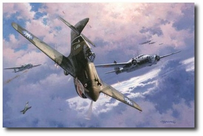 The Legend Begins by Roy Grinnell (P-40 Warhawk)