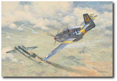The Little Ambassador Speaks by Roy Grinnell (P-51 Mustang)