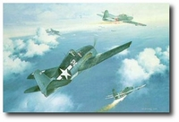 The Marianas Turkey Shoot by Roy Grinnell (F6F Hellcat)
