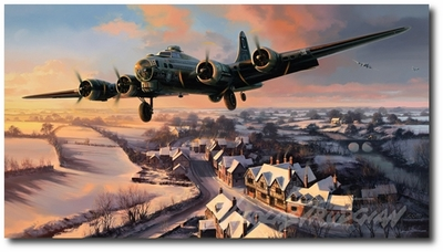 The Mighty 100th by Nicolas Trudgian (B-17)