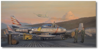 The Pirate of Suwon by Darby Perrin (F-86 Sabre)