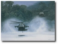 The River Hawks by Dru Blair (UH-60 Blackhawk)