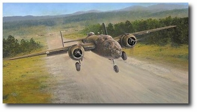 The Royce Raid by Richard Taylor (B-25 Mitchell)