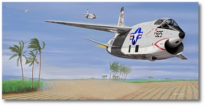 The Speed of Heat by David Mueller (RF-8A Crusader)