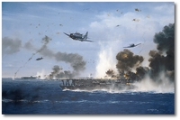 The Turning Point by R.G. Smith (SBD Dauntless)