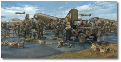 The Veterans by James Dietz (C-47 Dakota)