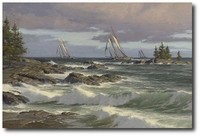 The Windswept Coast by Don Demers