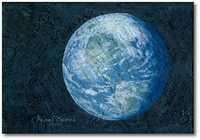 This Beautiful Planet is Revolving Around the Three of Us by Alan Bean
