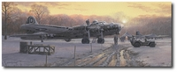 Those Golden Moments by Philip West (B-17)