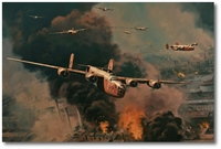 To Hell and Back by Anthony Saunders (B-24 Liberator)