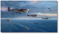 To Malta for Freedom by Jim Laurier (Spitfire Mk.V)