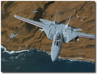 Top Gun Tomcats by K. Price Randel (F-14)