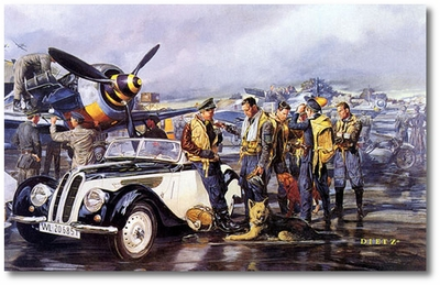 Tough Day by James Dietz (Fw190)