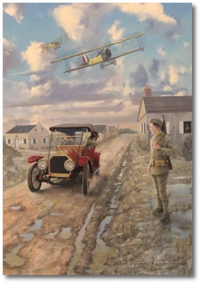 "Training Days by Darby Perrin (JN-4 ""Jenny"")"