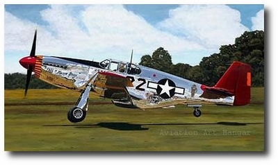 Tuskegee Ace by Sam Lyons (P-51 Mustang)