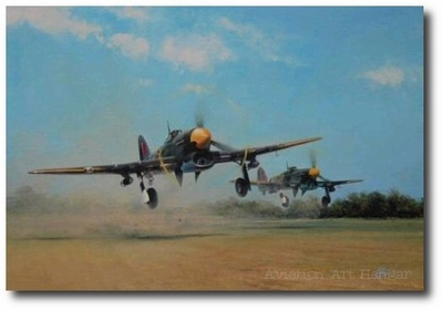 Typhoon Scramble by Richard Taylor