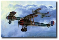 Uncle Sam's Boys by Russell Smith (Nieuport 28)