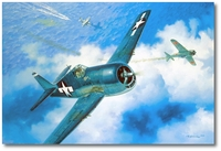 Unlucky Seven by Roy Grinnell (F6F Hellcat)