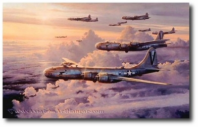 Valor in the Pacific by Robert Taylor (B-29)