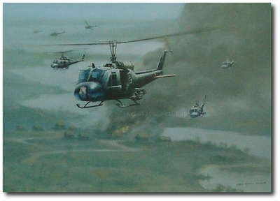 VC-Control by Darby Perrin (UH-1 Huey)