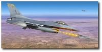 Vipers in the Surge by Thierry Thompson (F-16 Fighting Falcon)