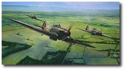Vital Force by Richard Taylor (Hawker Hurricane)