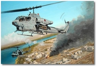 Wally's Ride by Joe Kline (AH-1 Cobra)