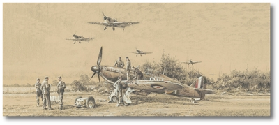 We All Stand Together by Robert Taylor (Hawker Hurricane)