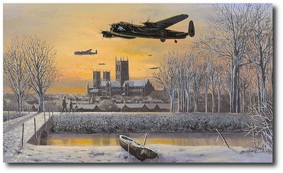 We Salute You by Philip West (Avro Lancaster)