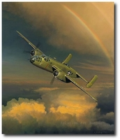 Westbound: A Date with the General by William S. Phillips (B-25)