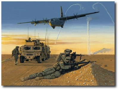 Whatever, Whenever, Wherever by K. Price Randel (C-130 Hercules)