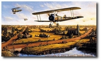 Winged Valor by Russell Smith (Sopwith Camel)