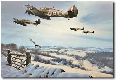 Winter Combat by Richard Taylor (Hurricane)