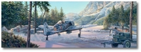 Winter War Wolves by Rick Herter (Fw190)