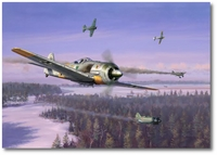 Winter Wulf by Jim Laurier (Fw190)