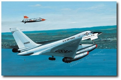 World's First by K. Price Randel (XB-58 Hustler)