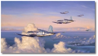 Wounds of War by Jim Laurier (F4U Corsair)