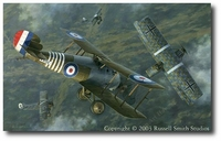 Wrong Place, Wrong Time by Russell Smith (Sopwith Snipe)