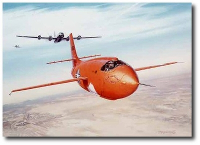 Yeager's Conquest - Mach 1 by Roy Grinnell (Bell X-1)
