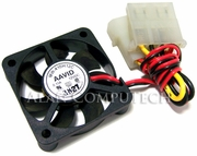 AAVID 40x10mm 0.11a DC 12v 2-Wire 2x4-Pin-M-F Molex FAN