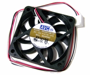 AVC 60x10mm 12v 0.1A 12in 3-Wire FAN New DA06010B12E