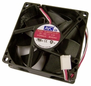 AVC HP 12v DC 0.50a 3-Wire 80x25mm Fan DL08025R12U-S01 3-Pin Hydraulic Bearing NEW