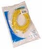Cables To Go CAT5e Yellow RJ45-M 25ft Cable NEW 15216 Molded Patch Cord New Bulk