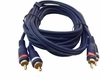 CablesToGo Velocity 12Ft M-M RCA Audio Cable New 13034